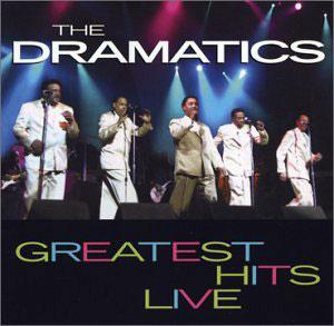 Album  Cover The Dramatics - The Dramatics - Live on VOLT Records from 1988