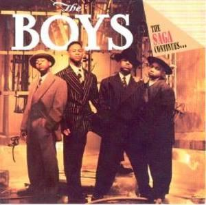 Album  Cover The Boys - The Saga Continues on MOTOWN Records from 1992