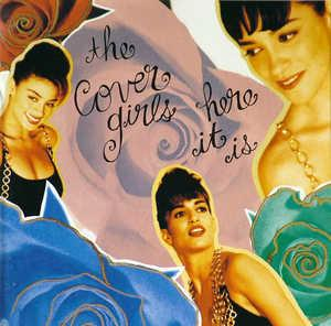 Album  Cover The Cover Girls - Here It Is on EPIC Records from 1992
