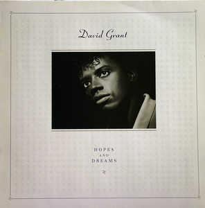 Album  Cover David Grant - Hopes & Dreams on CHRYSALIS Records from 1985