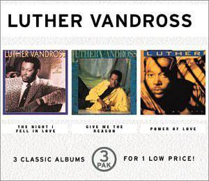 Album  Cover Luther Vandross - Power Of Love on EPIC Records from 1991