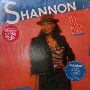 Album  Cover Shannon - Let The Music Play on MIRAGE Records from 1984