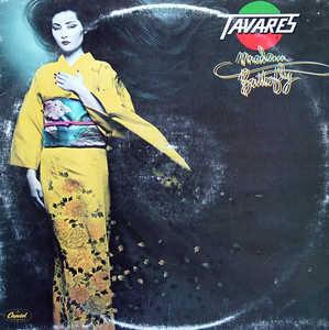 Album  Cover Tavares - Madam Butterfly on CAPITOL Records from 1979