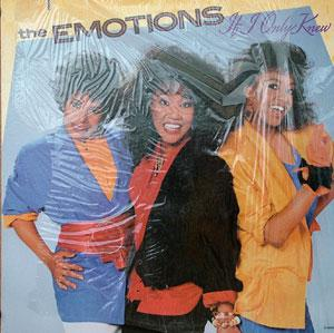 Album  Cover The Emotions - If I Only Knew on MOTOWN Records from 1985