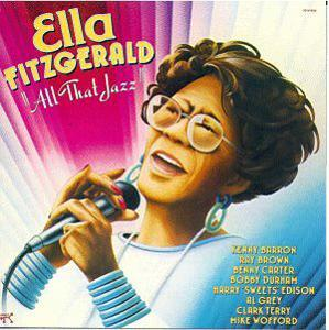 Album  Cover Ella Fitzgerald - All That Jazz on PABLO Records from 1989
