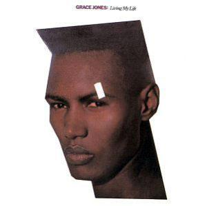Album  Cover Grace Jones - Living My Life on ISLAND Records from 1982