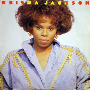 Album  Cover Keisha Jackson - Keisha Jackson on CBS Records from 1989