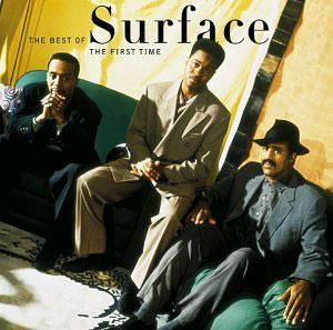 Album  Cover Surface - The First Time on SONY Records from 1990