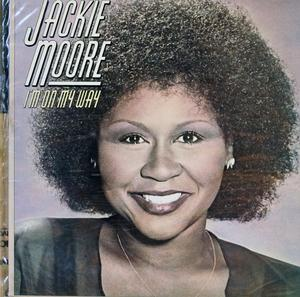 Front Cover Album Jackie Moore - I'm On My Way