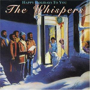 Front Cover Album The Whispers - Happy Holidays To You