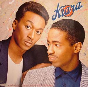 Album  Cover Kiara - Kiara on CAPITOL Records from 1988