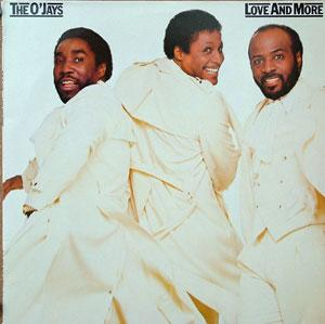 Album  Cover The O'jays - Love And More on PHILADELPHIA INTERNATIONAL Records from 1984