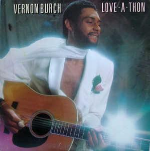 Front Cover Album Vernon Burch - Love-A-Thon