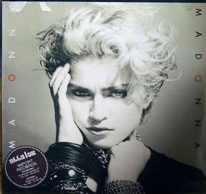 Album  Cover Madonna - Madonna on SIRE Records from 1982