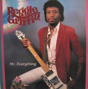 Front Cover Album Reggie Griffin - Mr. Everything