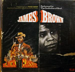 Front Cover Album James Brown - Black Caesar