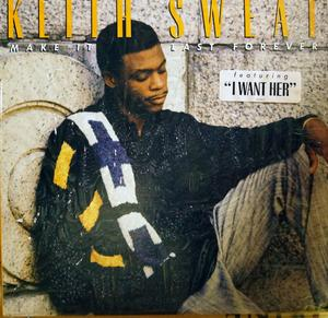 Album  Cover Keith Sweat - Make It Last Forever on ELEKTRA Records from 1987