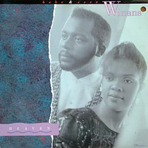 Album  Cover Bebe And Cece Winans - Heaven on CAPITOL Records from 1988
