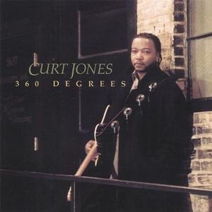 Album  Cover Curt Jones - 360 Degrees on RED VIRGO Records from 2006