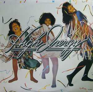 Album  Cover High Inergy - Frenzy on GORDY Records from 1979
