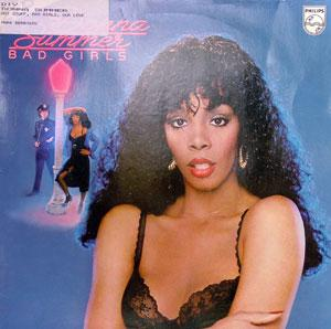Album  Cover Donna Summer - Bad Girls on ISLAND Records from 1979