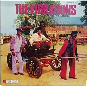 Album  Cover The Vibrations - The Vibrations on FINGER Records from 1973