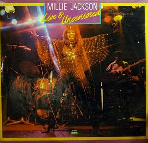 Album  Cover Millie Jackson - Live And Uncensored on SPRING Records from 1979
