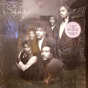 Album  Cover Sharp - Sharp on ELEKTRA Records from 1989