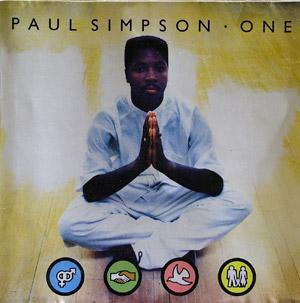 Album  Cover Paul Simpson - One on COOLTEMPO Records from 1989