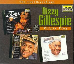 Front Cover Album Dizzy Gillespie - Triple Play