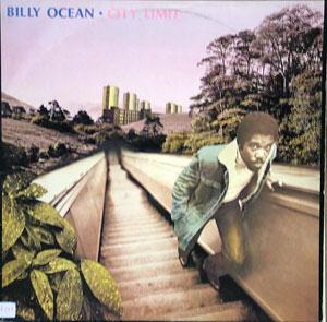 Album  Cover Billy Ocean - City Limit on GTQ Records from 1980