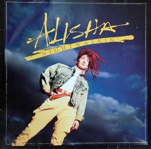 Album  Cover Alisha - Nightwalkin' on MERCURY Records from 1987