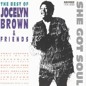Album  Cover Jocelyn Brown - The Best Of Jocelyn Brown And Friends on ARCADE Records from 1992