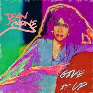 Front Cover Album Jean Carne - Give It Up
