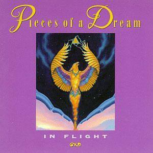 Album  Cover Pieces Of A Dream - In Flight on MANHATTAN Records from 1993