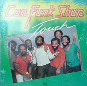 Album  Cover Con Funk Shun - Touch on MERCURY Records from 1980