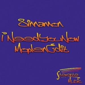 Album  Cover Sinnamon - I Need You Now on  Records from 2013