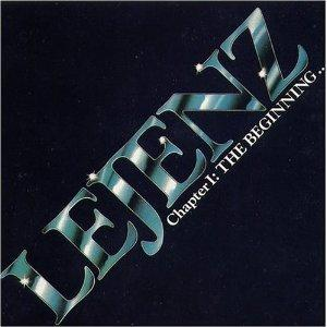 Album  Cover Lejenz - The Beginning on BOUVIER Records from 1987