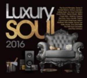 Album  Cover Various Artists - Luxury Soul 2016 on EXPANSION Records from 2016