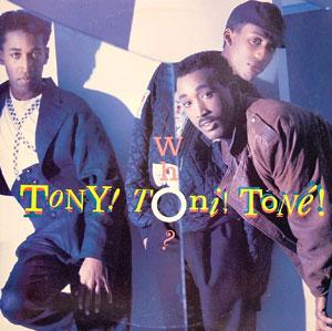 Album  Cover Tony! Toni! Tone! - Who? on WING Records from 1988
