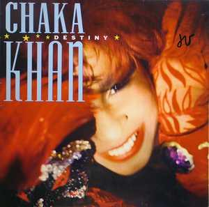 Album  Cover Chaka Khan - Destiny on WARNER BROS. Records from 1986