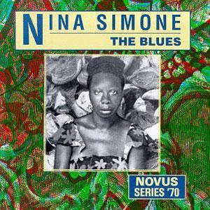 Album  Cover Nina Simone - The Blues on NOVUS/RCA Records from 1991