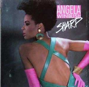 Album  Cover Àngela Winbush - Sharp on MERCURY Records from 1987