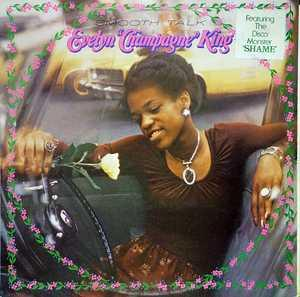 Album  Cover Evelyn 'champagne' King - Smooth Talk on RCA Records from 1977