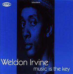 Album  Cover Weldon Irvine - Music Is The Key on LUV N' HAIGHT Records from 1994