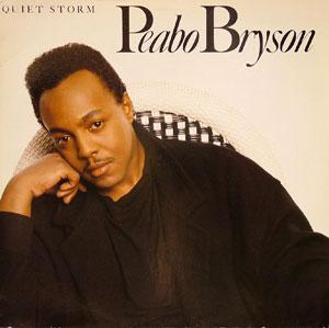 Album  Cover Peabo Bryson - Quiet Storm on ELEKTRA Records from 1986