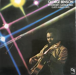 Album  Cover George Benson - In Concert - Carnegie Hall on EPIC Records from 1976