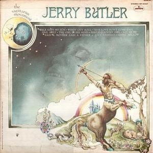 Album  Cover Jerry Butler - The Sagittarius Movement on MERCURY Records from 1971