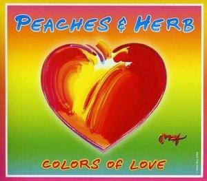Album  Cover Peaches & Herb - Colors Of Love on IMAGEN Records from 2009
