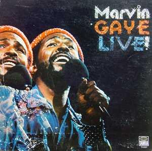 Album  Cover Marvin Gaye - Marvin Gaye Live! on TAMLA Records from 1974